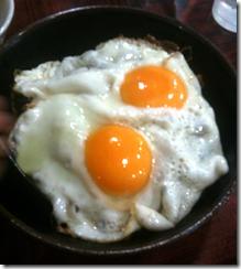 淡々_焼肉丼エッグ